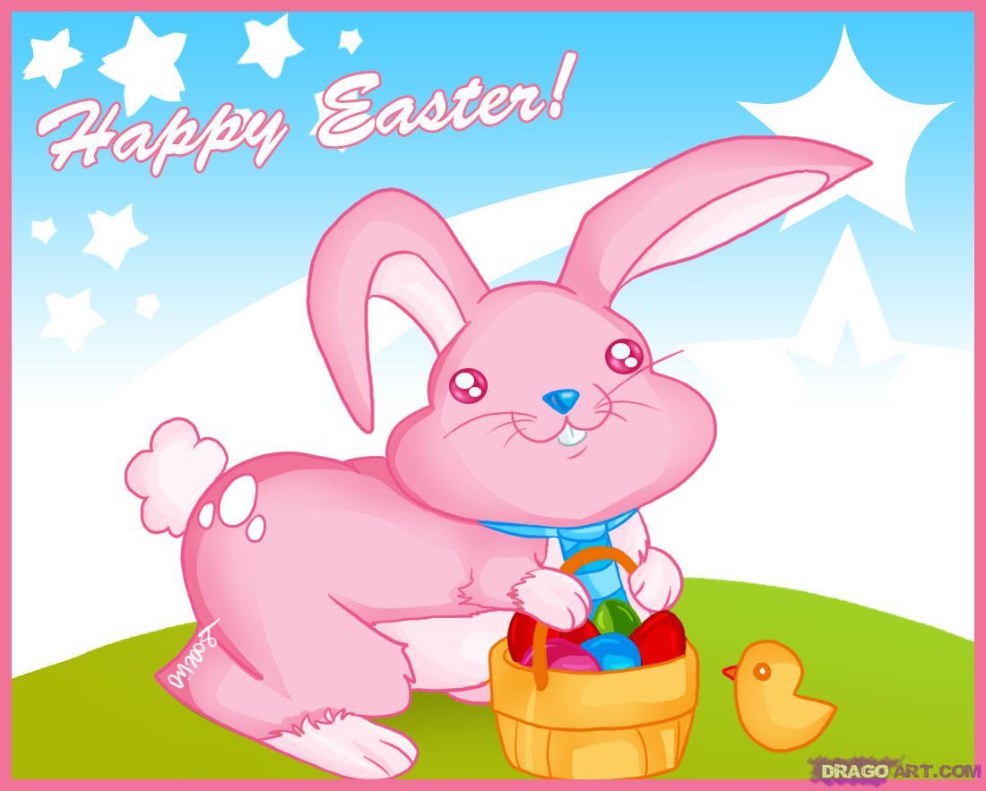 unique comics animation ideal easter bunny