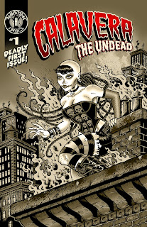 Digital cover of Calavera The Undead #1 from Boom