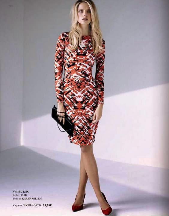 Vestido de ECI primavera 2015