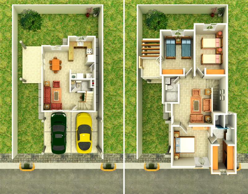 planos de casas loft