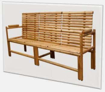A mi manera un asiento con bamb para la terraza for Asientos terraza
