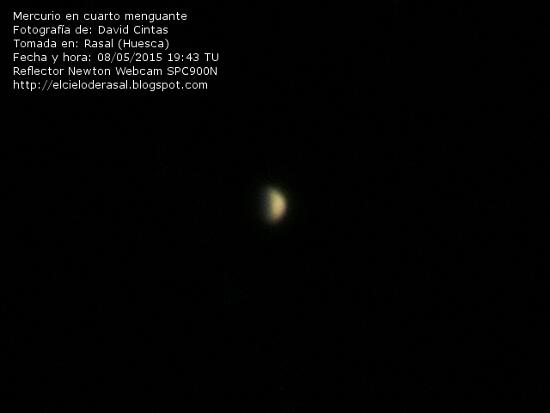 Mercurio - El cielo de Rasal