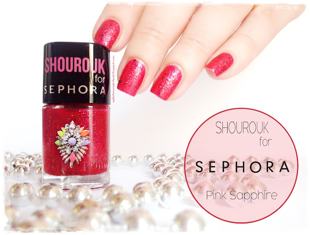 Shourouk for Sephora Pink Sapphire Oje İncelemesi / Nail Polish Swatch and Review