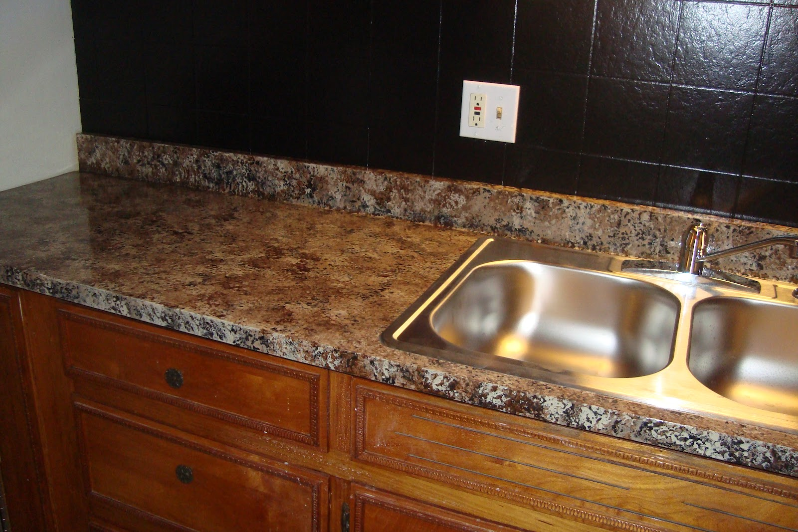 Giani Countertop Paint On Tile : Trying To Go Green: Giani Granite Countertop Paint Kit Review
