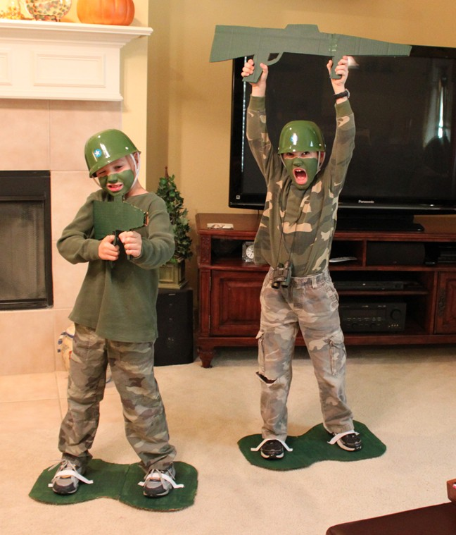 Toy Soldiers For Boys : East coast mommy awesome no sew costumes for kids