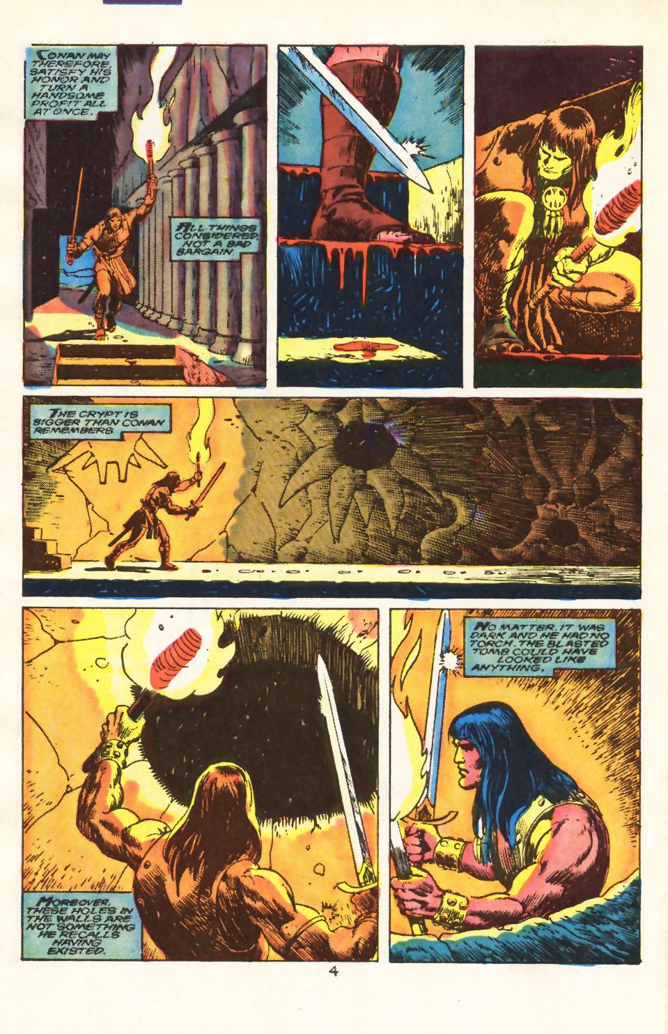 Conan the Barbarian (1970) Issue #212 #224 - English 5