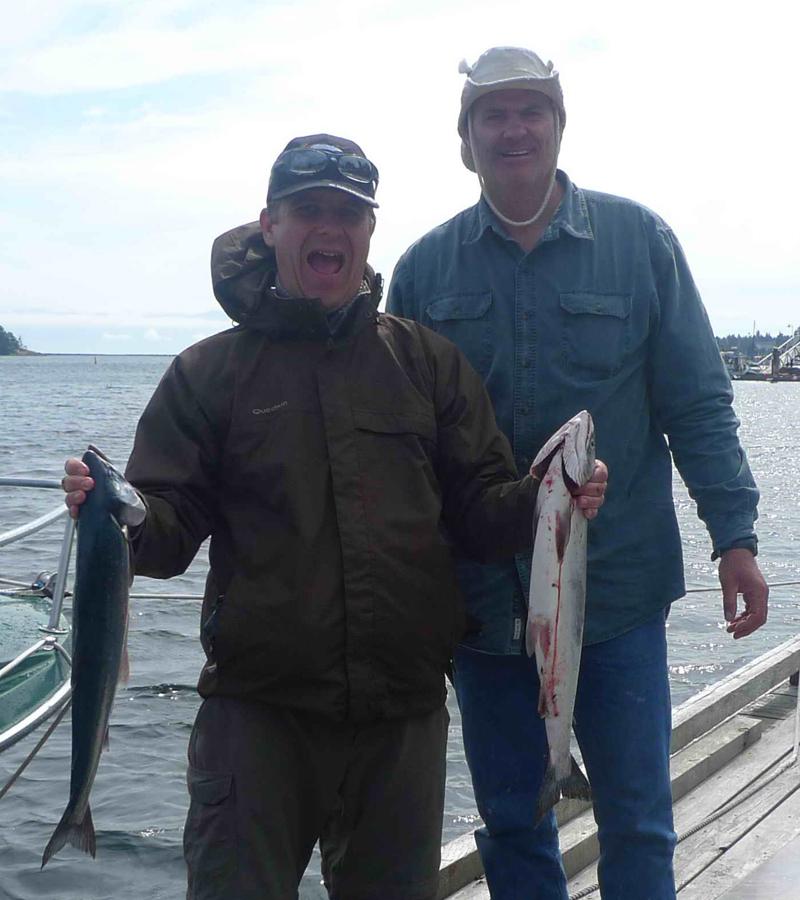 Fishing report sooke fishing adventures fantasic for Island current fishing report