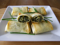 Mini Spanakopita Rolls