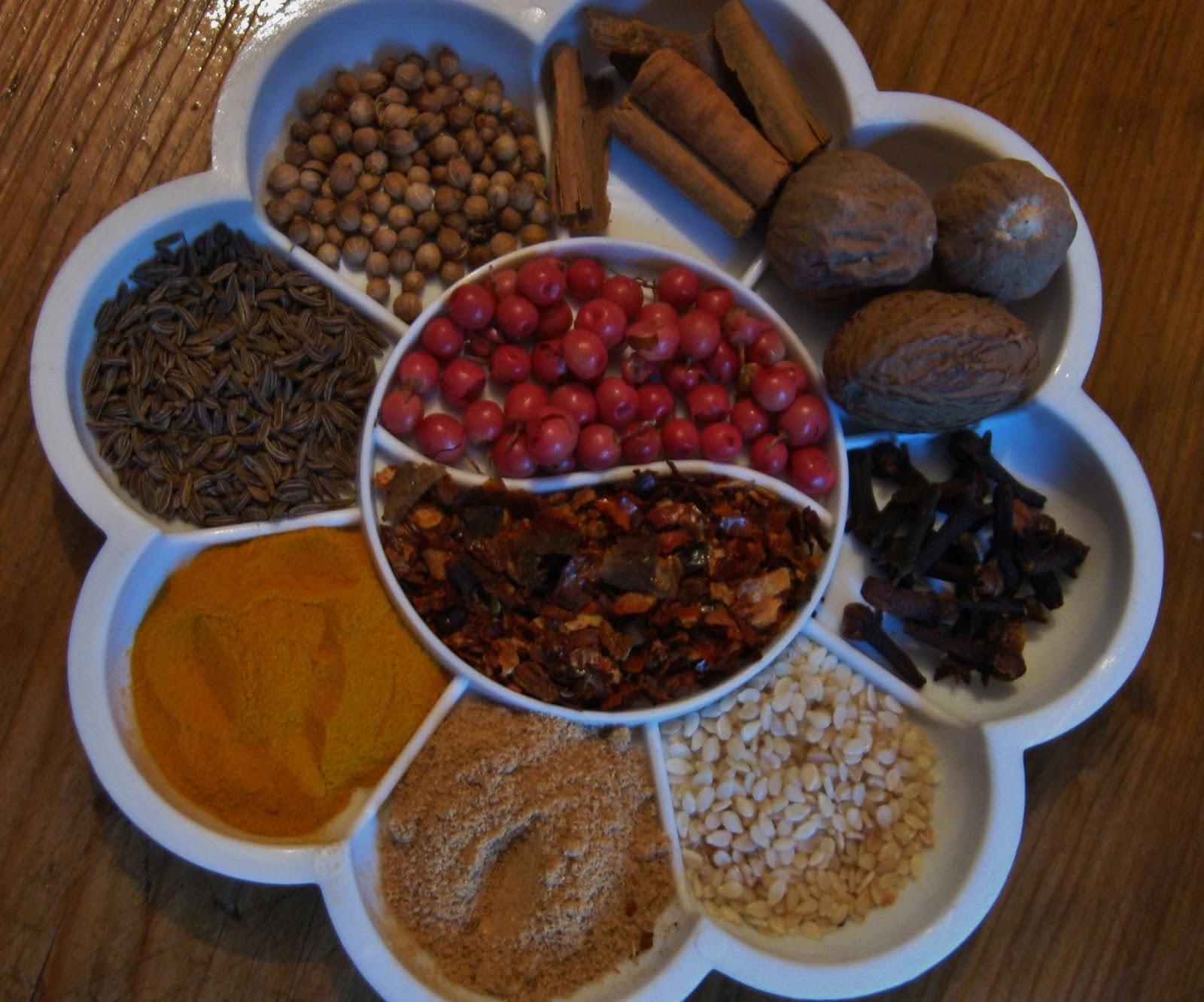 La granja di adriana erbe aromatiche e spezie in cucina - Le spezie in cucina ...