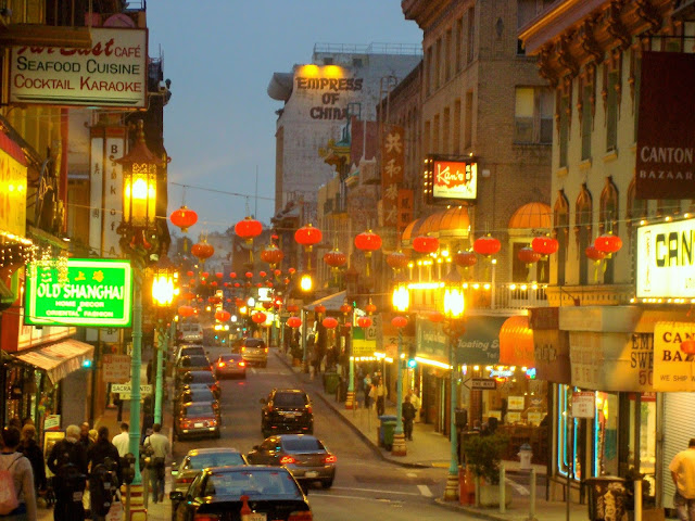 china Town - San Fransisco - California - USA