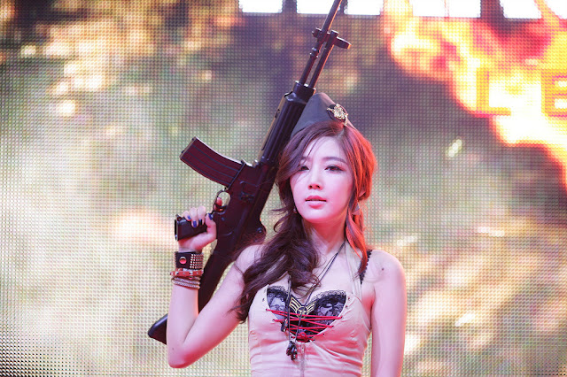 3 Jo Sang Hi at G-STAR 2012-Very cute asian girl - girlcute4u.blogspot.com