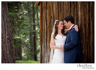 Rustic Tahoe Wedding Photos l Theilen Photo l @takethecakevent