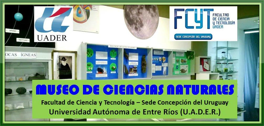 MUSEO DE CIENCIAS NATURALES DEL PROFESORADO EN BIOLOGIA