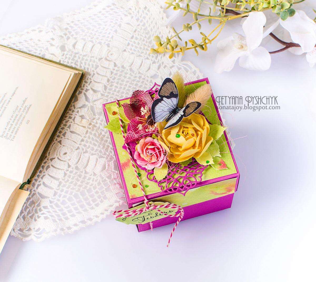 Сундучки и коробки для денег, конвертов и подарков 92