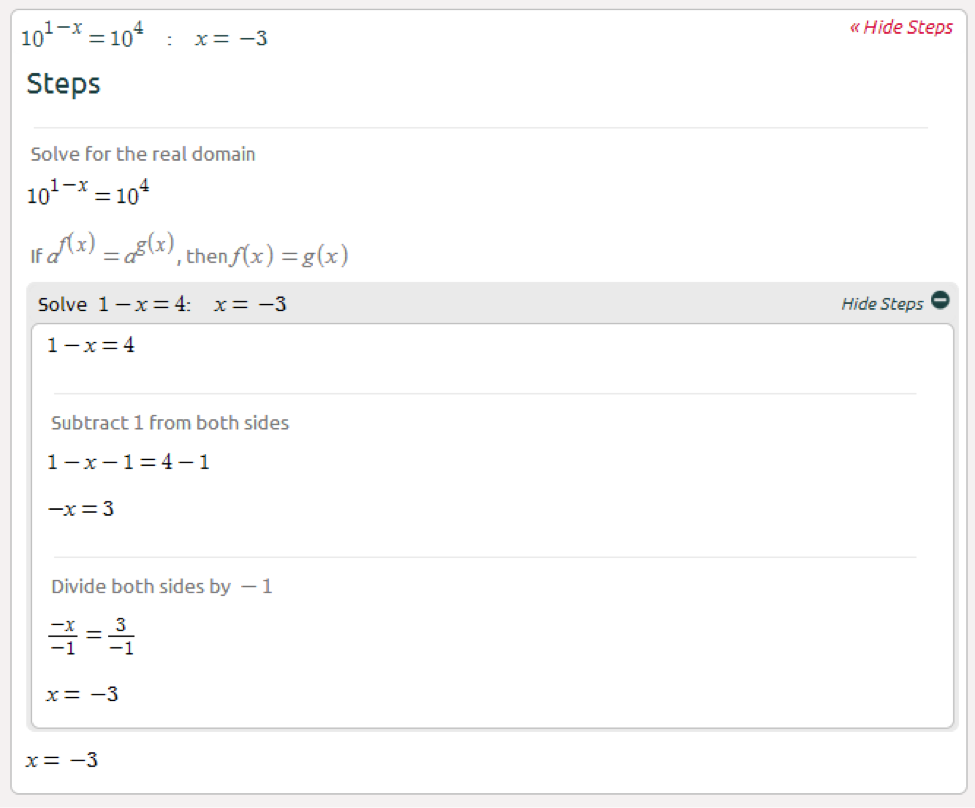 worksheet Exponential Equations Not Requiring Logarithms symbolab blog may 2014 heres another example that requires some manipulation to get the same base on both sides click here