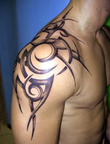 tribal tattoo designs for arms-12