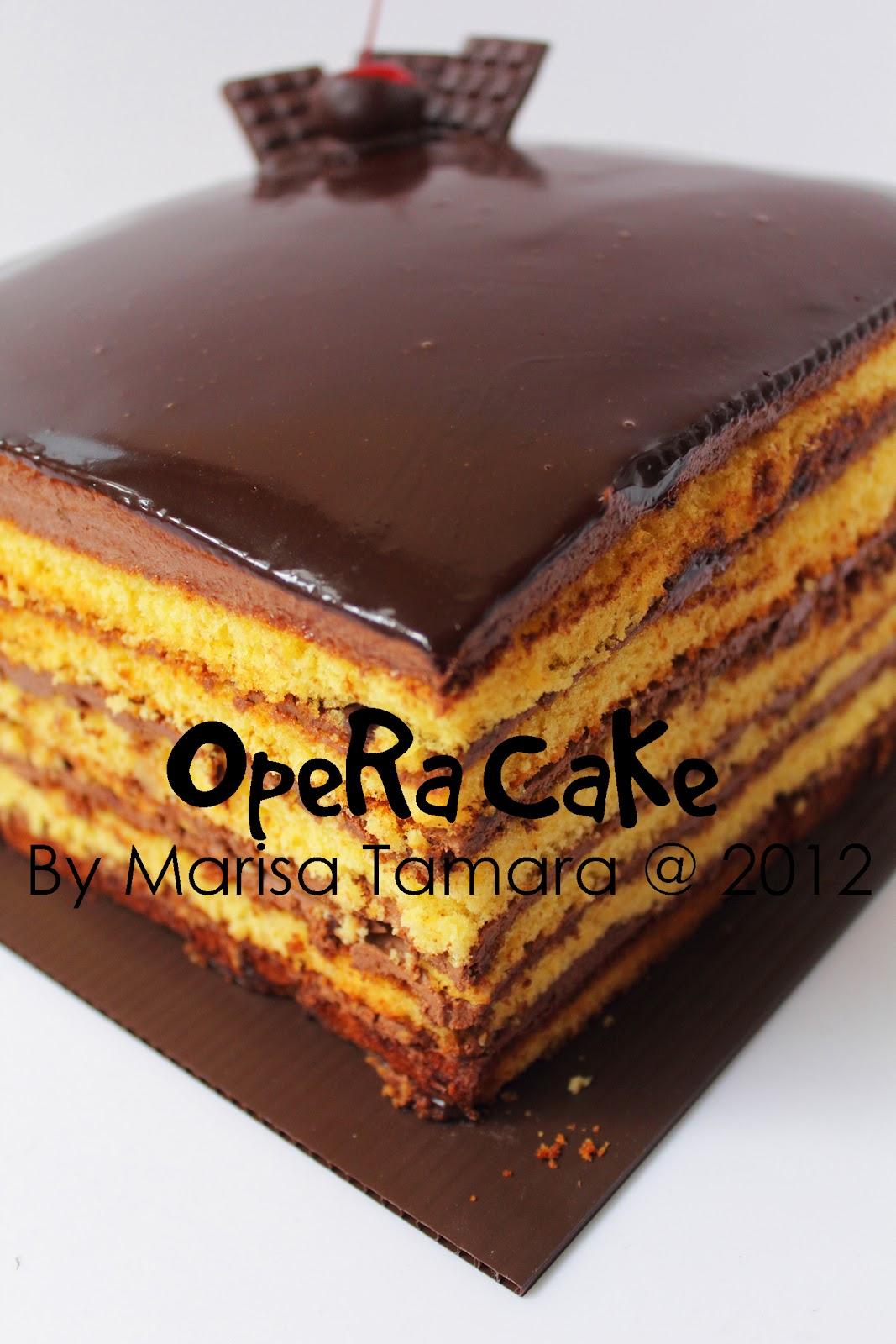 Opera Cake Ricke Opera Cake