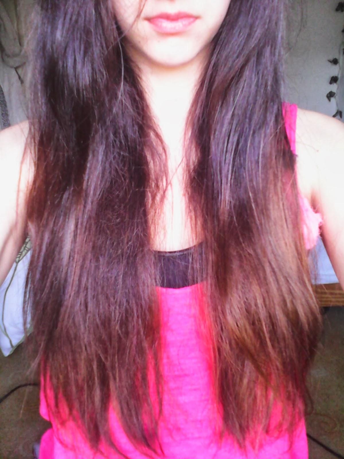 ma pousse de cheveux depuis 2009 un tie dye ombr hair avec des produits 100 naturels - Coloration Cheveux Produits Naturels