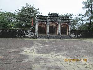 Emperor Minh Mang's Tomb complex.