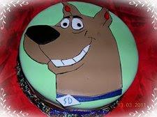 Scooby  Doo torta