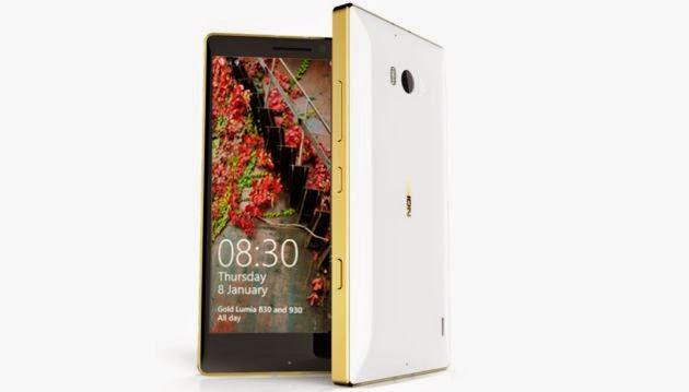 Nokia Lumia de Oro Sopresas