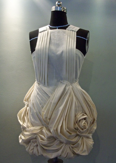 draping project flower skirt elena fashion design workshops zero waste design projects. Black Bedroom Furniture Sets. Home Design Ideas
