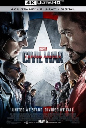 Capitão América - Guerra Civil 4K Filmes Torrent Download capa