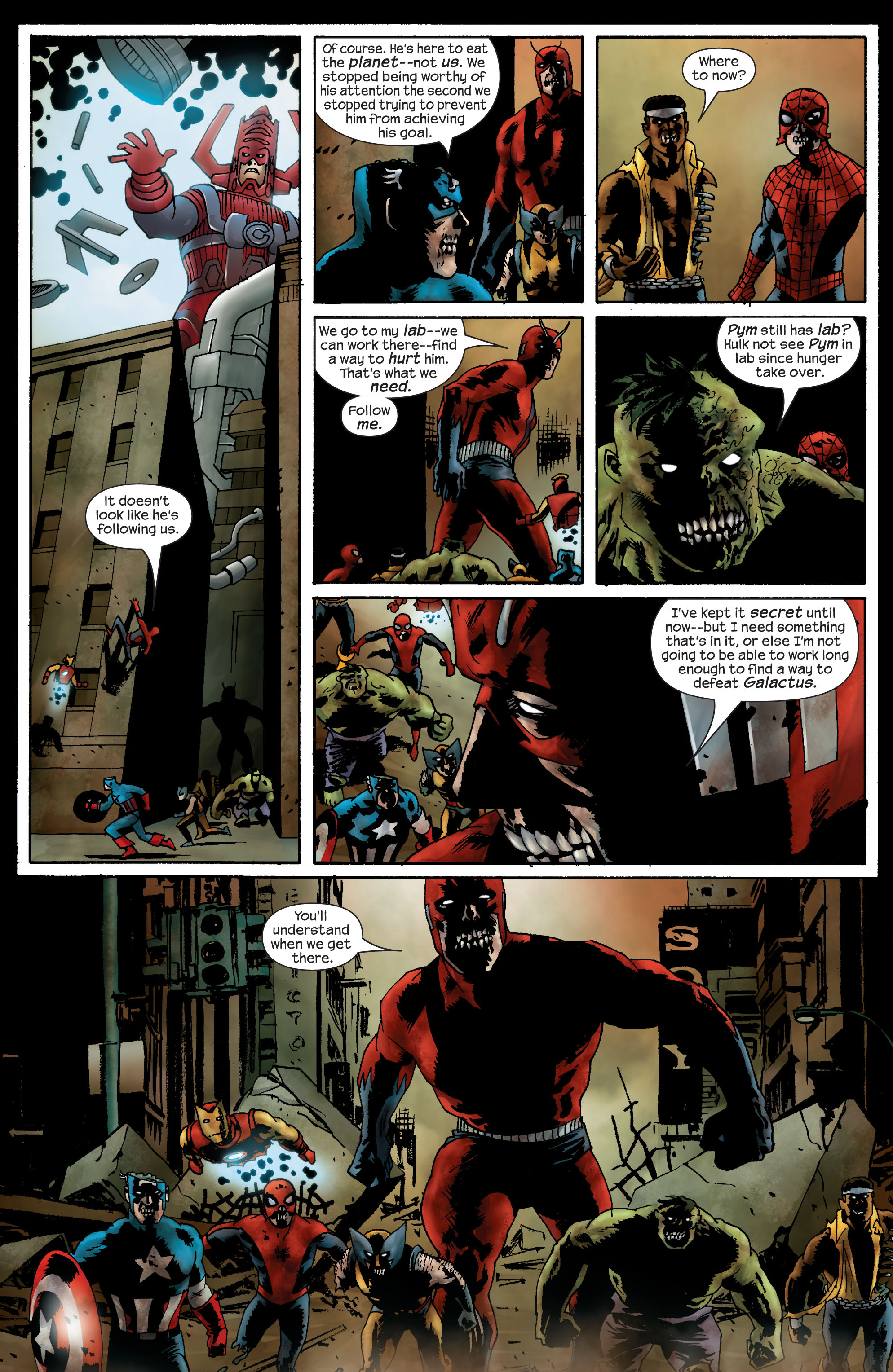 Marvel Zombies (2006) Issue #4 #4 - English 7