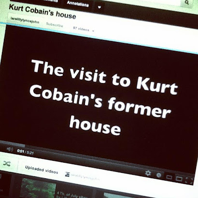 The Visit to Kurt Cobain 's former house in Seattle WA by Iara Foschino