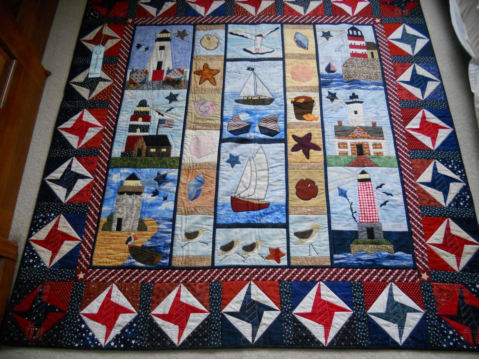 Quilting Lighthouse Patterns : knitstitchquilt: Bonnie Hunter s Yard Sale