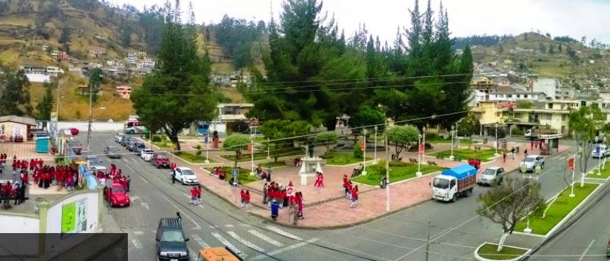 Parques turísticos de la ciudad de Guaranda Parque Montufar