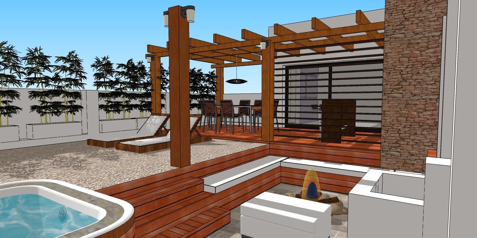 Cc arquitectos terraza en beccar - Madera para terrazas ...