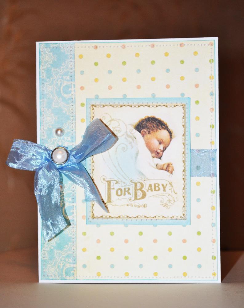 Открытка с для новорожденного 87
