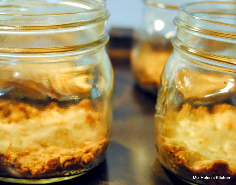 No Bake Lemon Jar Pie at Miz Helen's Country Cottage