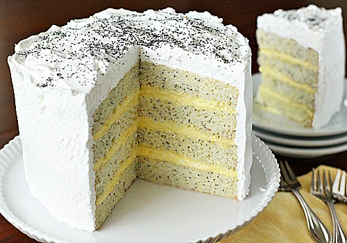 Recipe For Lemon Poppy Seed Layer Cake