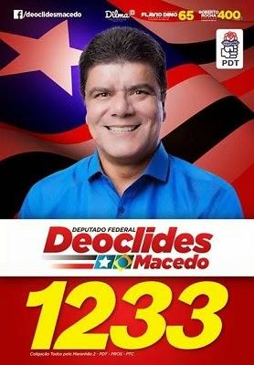 DEPUTADO FEDERAL DEOCLIDES MACEDO 1233