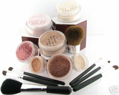 Produtos maquiagens mineral