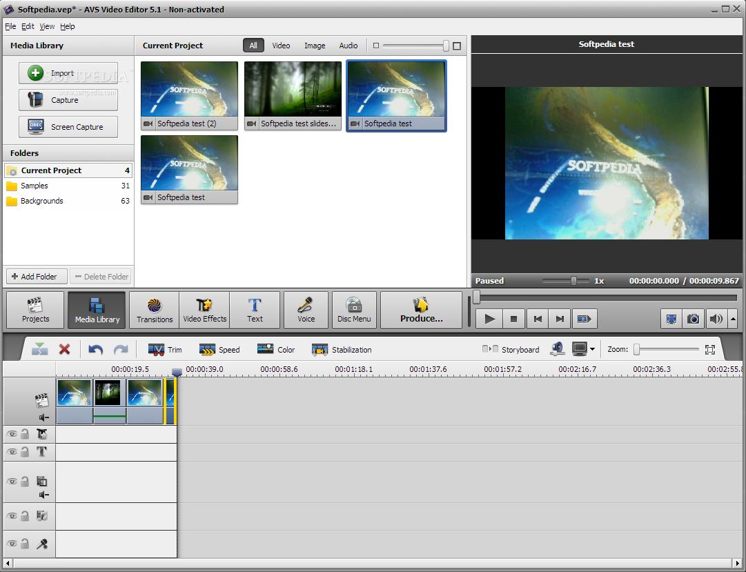 برنامج تعديل الفيديو برنامج avs video editor اخر اصدار
