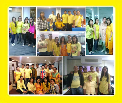 Yellow Day Celebration at Cygnet