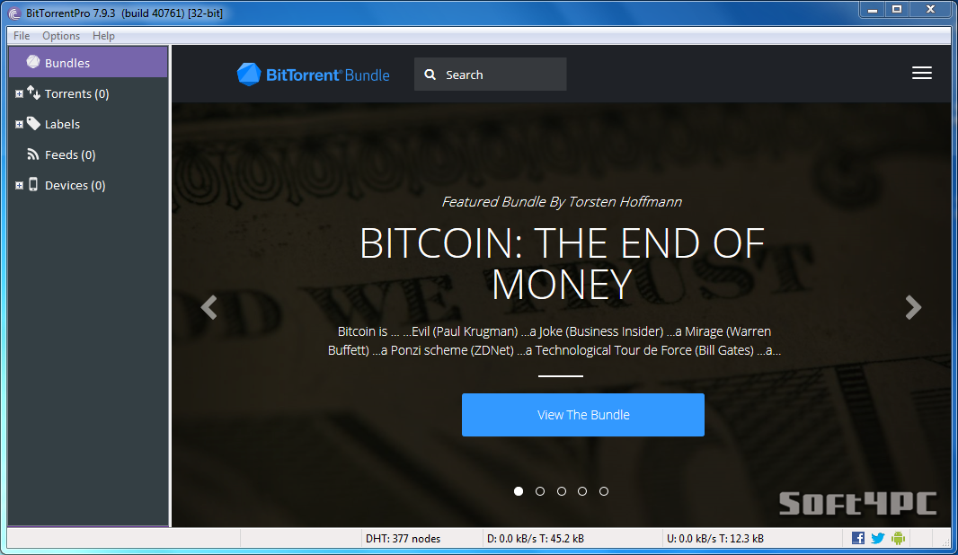 �������� ������ ������ ������� BitTorrentPro