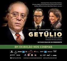 Cartaz cinema filme Getúlio