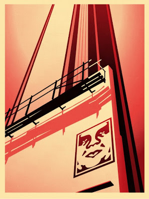 Obey Giant &#8220;Sunset &amp; Vine Billboard&#8221; Screen Print by Shepard Fairey