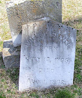 Grave of William Reeves, born 1795