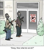 Oh, no gun free zone!