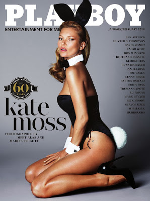 US Playboy 2014 01 02 0001 Baixar Kate Moss   Playboy USA   January February 2014