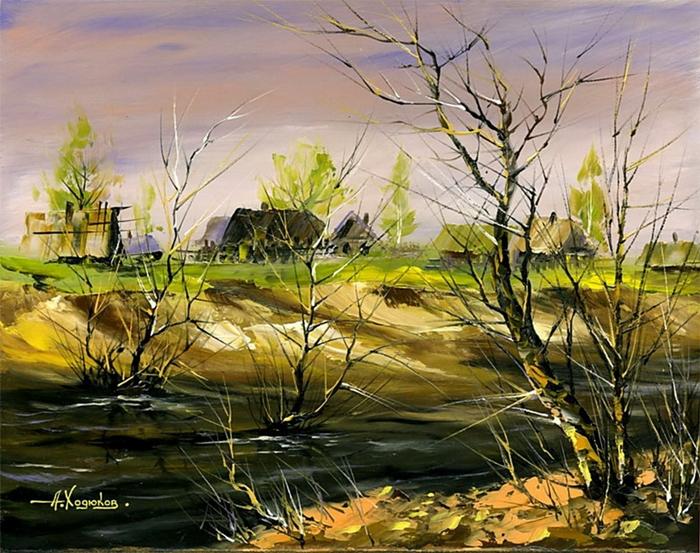 Alexander Hodyukov Ходюков Александр 1966 | Belarusian painter