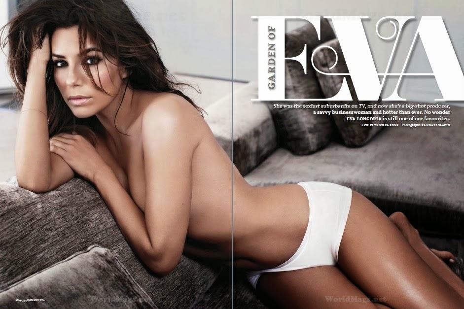 Fotos Eva Longoria para a Maxim India