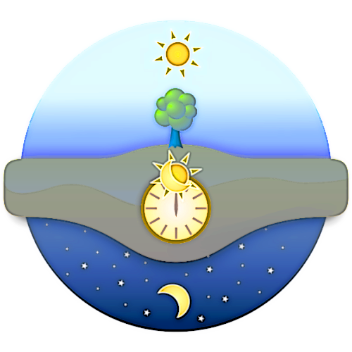 Day and Night clipart