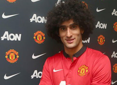 Fellaini Man United Player 20132014