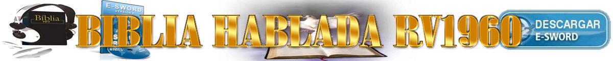 Biblia Hablada RV1960